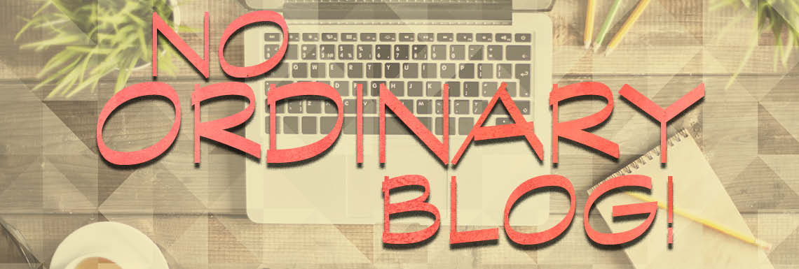 Sermon Series - No Ordinary Blog!