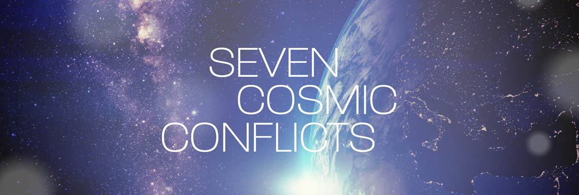 Sermon Series - Seven Cosmic Conflicts - Banner