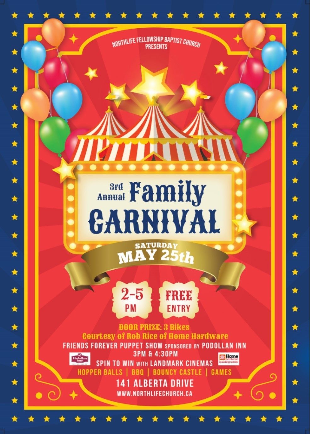 3rd Annual Family Carnival @ Northlife Fellowship Baptist Church | Fort McMurray | Alberta | Canada