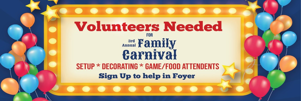 Carnival Volunteers Needed